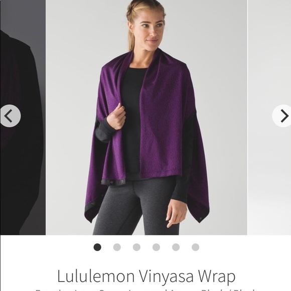 Lululemon Vinyasa Wrap